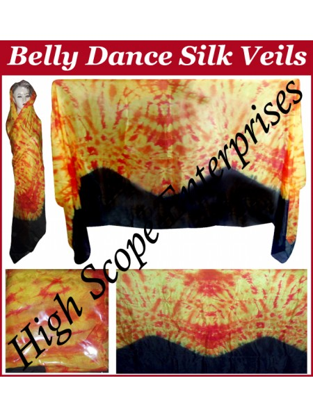 Belly Dance Special Color Rectangle Silk Veil HSE-RV-10002