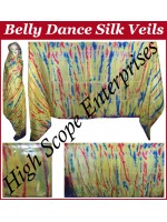 Belly Dance Special Color Rectangle Silk Veil HSE-RV-10004