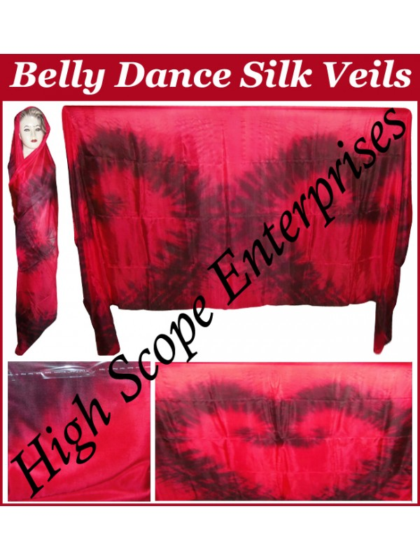 Belly Dance Special Color Rectangle Silk Veil HSE-RV-10005