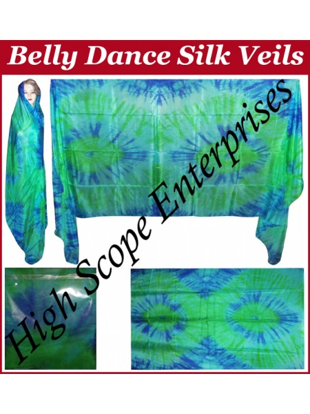 Belly Dance Special Color Rectangle Silk Veil HSE-RV-10008