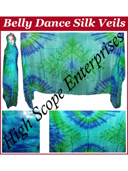 Belly Dance Special Color Rectangle Silk Veil HSE-RV-10009