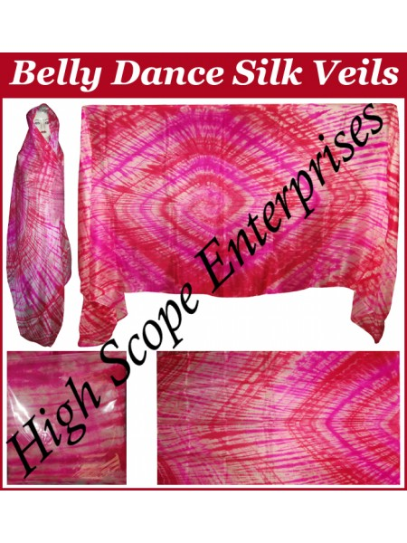 Belly Dance Special Color Rectangle Silk Veil HSE-RV-10010