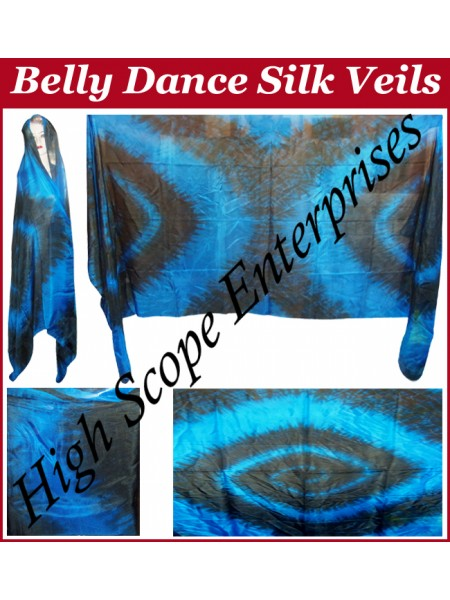 Belly Dance Special Color Rectangle Silk Veil HSE-RV-10012