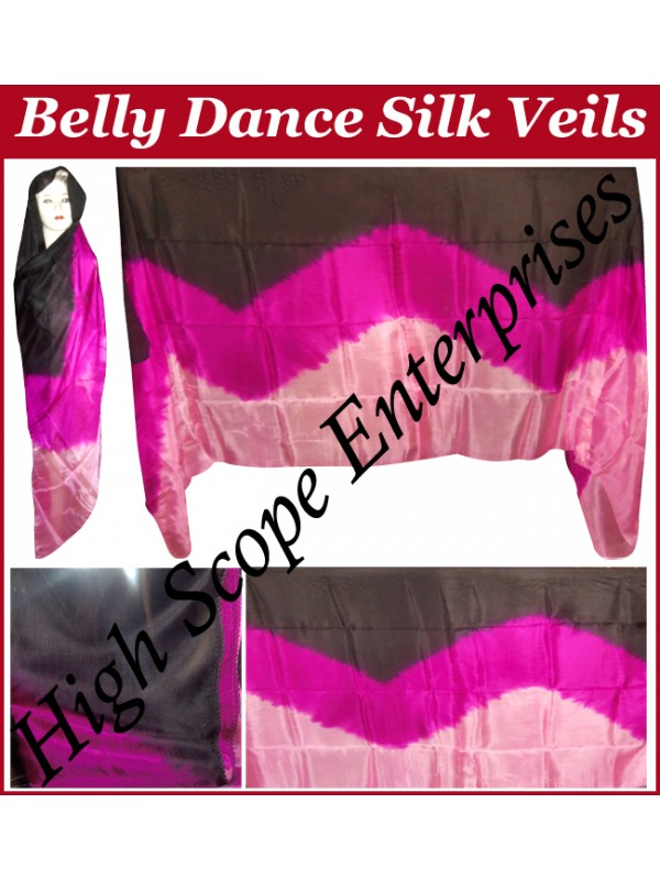 Belly Dance Special Color Rectangle Silk Veil HSE-RV-10015