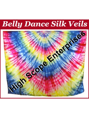 Belly Dance Special Color Rectangle Silk Veil HSE-RV-10019