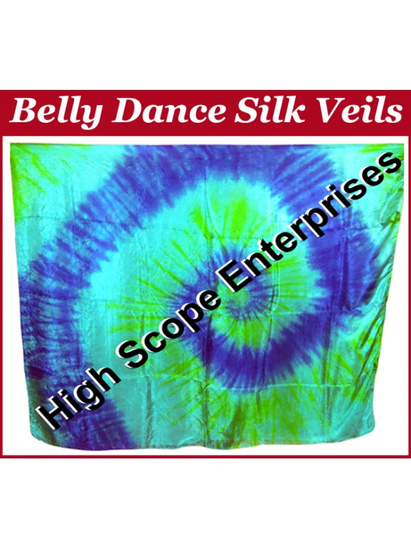 Belly Dance Special Color Rectangle Silk Veil HSE-RV-10020
