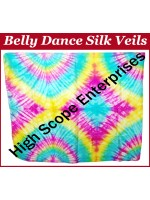 Belly Dance Special Color Rectangle Silk Veil HSE-RV-10021