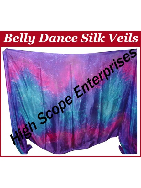Belly Dance Special Color Rectangle Silk Veil HSE-RV-10027