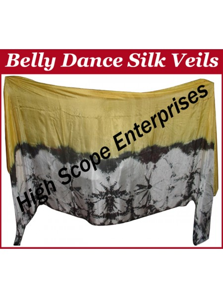 Belly Dance Special Color Rectangle Silk Veil HSE-RV-10028