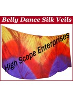 Belly Dance Special Color Rectangle Silk Veil HSE-RV-10031