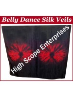 Belly Dance Special Color Rectangle Silk Veil HSE-RV-10032