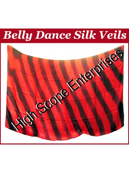 Belly Dance Special Color Rectangle Silk Veil HSE-RV-10033