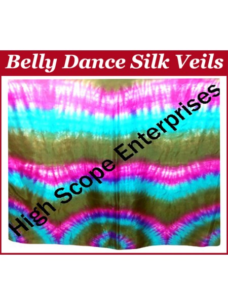 Belly Dance Special Color Rectangle Silk Veil HSE-RV-10037