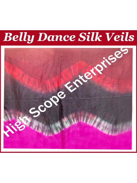 Belly Dance Special Color Rectangle Silk Veil HSE-RV-10038
