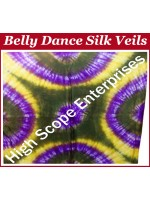 Belly Dance Special Color Rectangle Silk Veil HSE-RV-10040