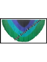 Belly Dance Four Color Gradient Half Circle Silk Veil HSE-HCV-2002