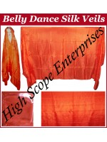 BellyDance Solid Rectangle Silk Veil HSE-RV-9006