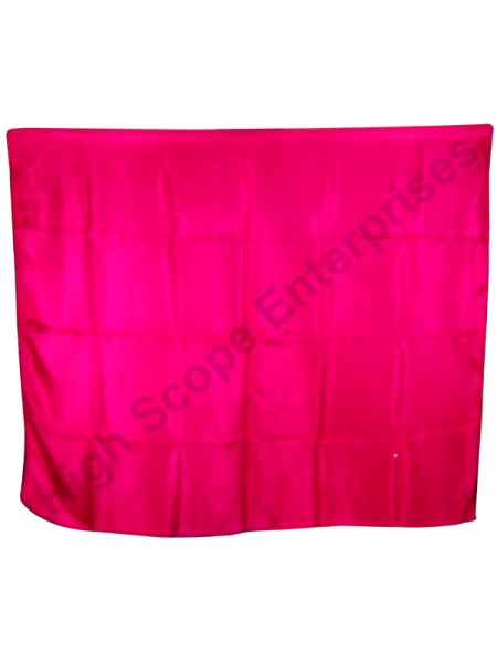 BellyDance Solid Rectangle Silk Veil HSE-RV-9009