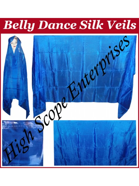 BellyDance Solid Rectangle Silk Veil HSE-RV-9017
