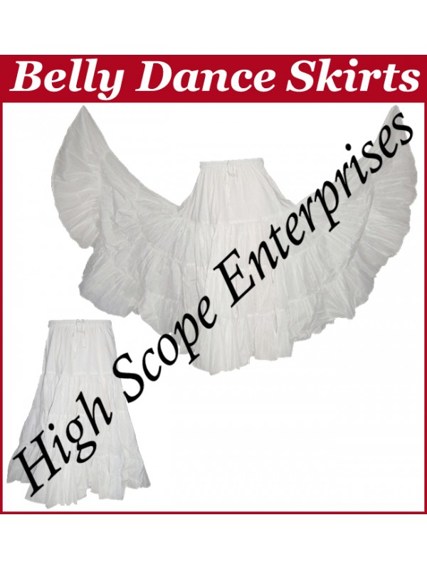 Belly Dance Ladies Solid Color Skirts HSE-LS-20001
