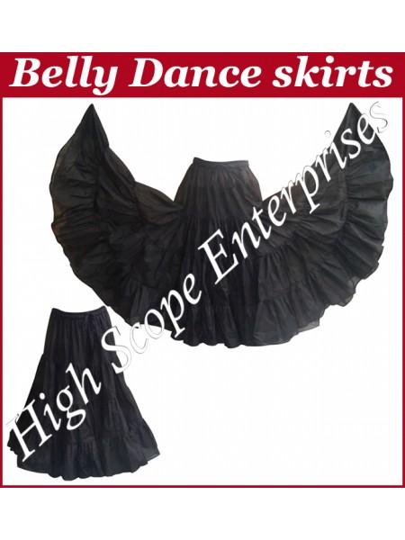 Belly Dance Ladies Solid Color Skirts HSE-LS-20002