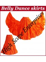Belly Dance Ladies Solid Color Skirts HSE-LS-20003