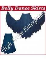 Belly Dance Ladies Solid Color Skirts HSE-LS-20005
