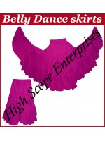 Belly Dance Ladies Solid Color Skirts HSE-LS-20007