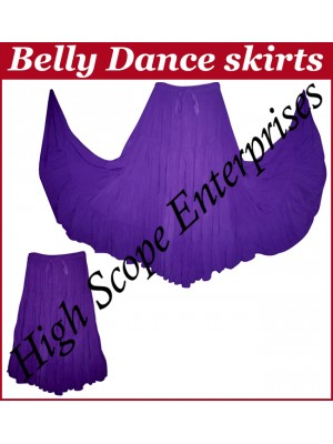 Belly Dance Ladies Solid Color Skirts HSE-LS-20008