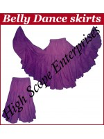 Belly Dance Ladies Solid Color Skirts HSE-LS-20010