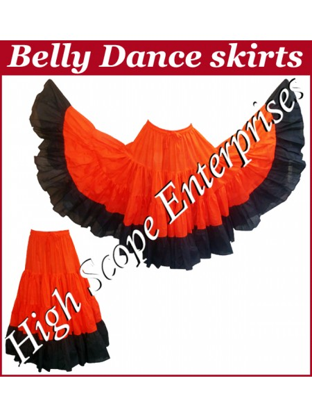 Belly Dance Ladies Tie-Dye  Color Skirts HSE-LS-20021