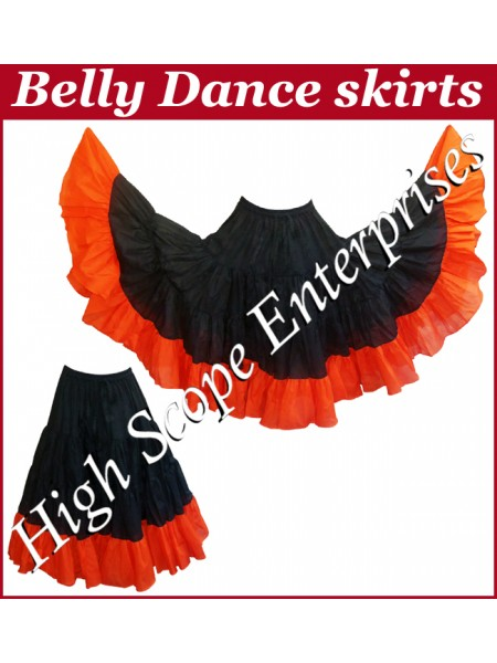 Belly Dance Ladies Tie-Dye  Color Skirts HSE-LS-20022