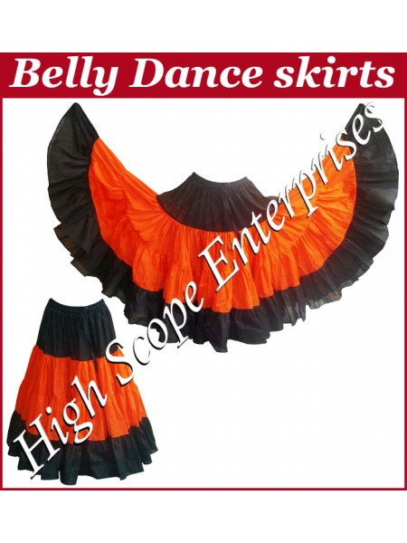 Belly Dance Ladies Tie-Dye  Color Skirts HSE-LS-20023