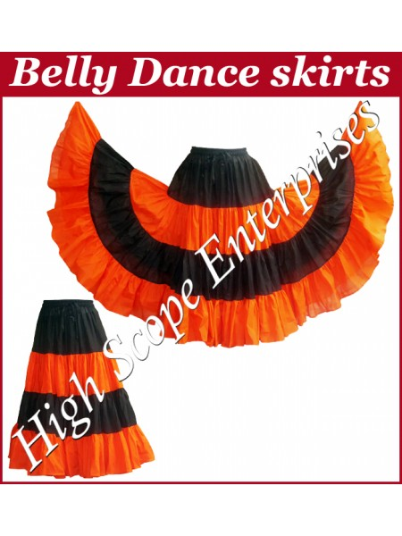 Belly Dance Ladies Tie-Dye  Color Skirts HSE-LS-20024