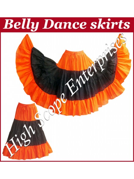 Belly Dance Ladies Tie-Dye  Color Skirts HSE-LS-20025
