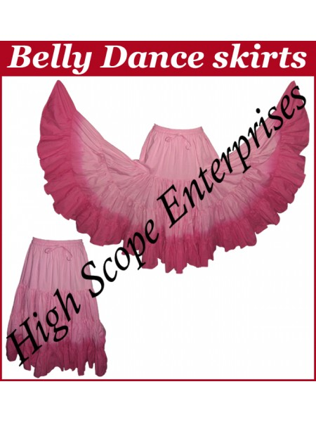 Belly Dance Ladies Tie-Dye  Color Skirts HSE-LS-20026