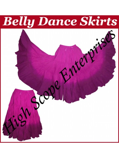 Belly Dance Ladies Tie-Dye  Color Skirts HSE-LS-20031