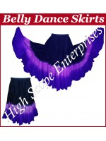 Belly Dance Ladies Tie-Dye  Color Skirts HSE-LS-20040