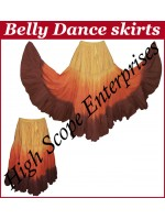 Belly Dance Ladies Tie-Dye  Color Skirts HSE-LS-20042
