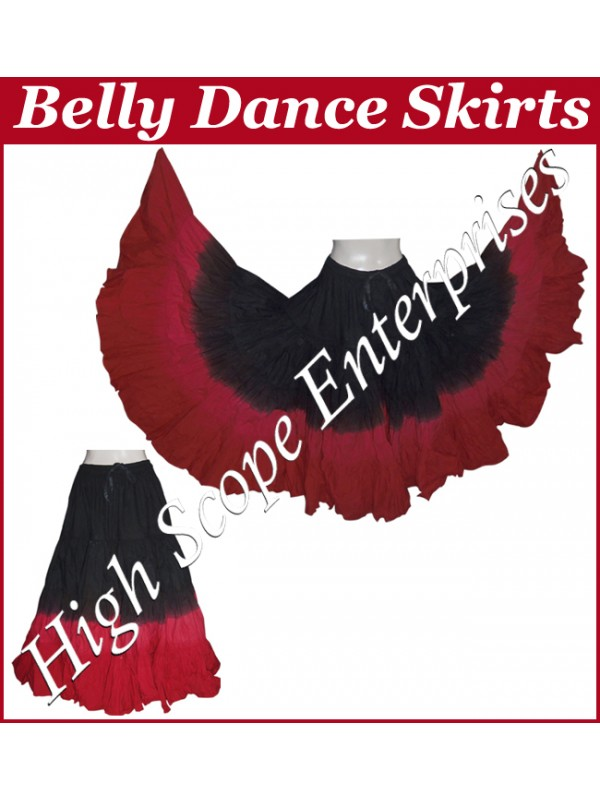 Belly Dance Ladies Tie-Dye  Color Skirts HSE-LS-20043