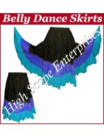 Belly Dance Ladies Tie-Dye  Color Skirts HSE-LS-20044