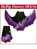 Belly Dance Ladies Tie-Dye  Color Skirts HSE-LS-20045