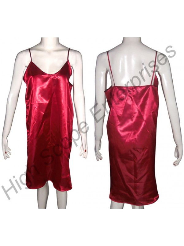 Ladies Silk Nightgown HSE-NSG-6001