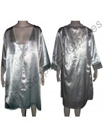 Ladies Silk Nightgown HSE-NSG-6006
